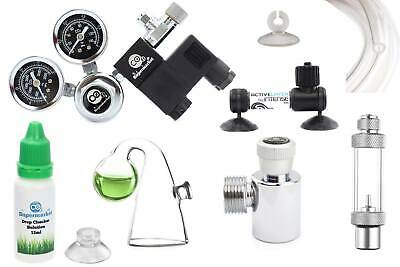Aquarium CO2 System with SodaStream Adapter for Planted Tank up to 500L
