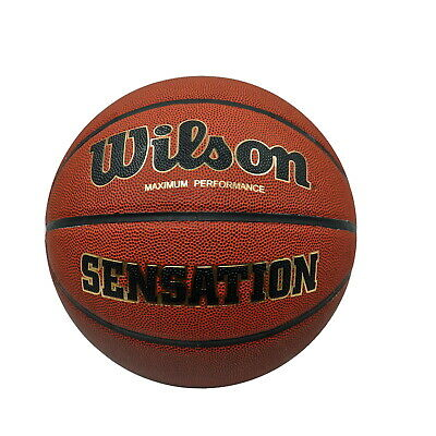 Wilson Basketball - Sensation - Size 7 - Synthetic Leather Cover - In / outdoor