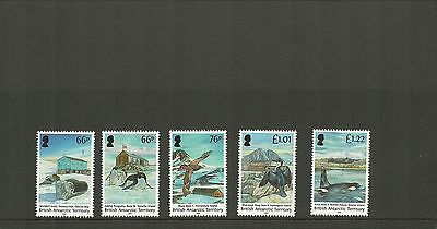 British Antarctic 2015 New Issue Antarctic Huts Set Mnh