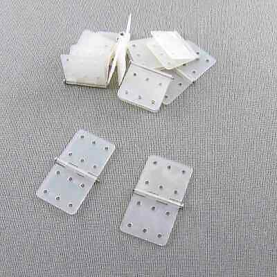 Nylon Metal Pinned Hinges 16mm x 28.5mm 10 Pieces
