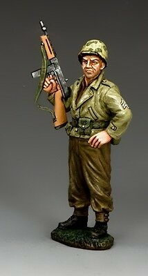 "KING AND COUNTRY  WW11 D DAY ""THE SARGE""  dd273 MILITARY METAL 1.30 SCALE NEW"