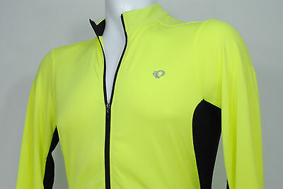 b1e5e2eee PEARL iZUMi Select Attack LS Long Sleeve Cycling Jersey Neon Yellow Size  Small S