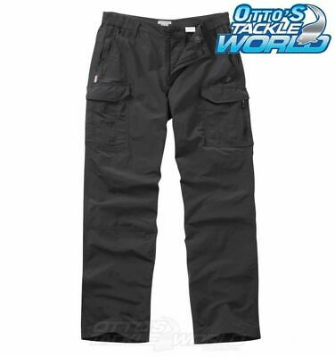 NosiLife Cargo Trousers in Black Pepper BRAND NEW at Otto's Tackle World