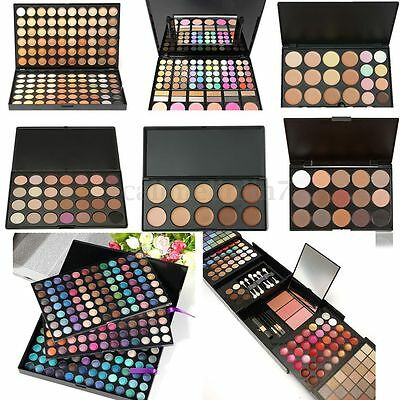Chaud Palette Fard Ombre à Paupières Yeux Mat Glitter Smoky Eyeshadow Maquillage