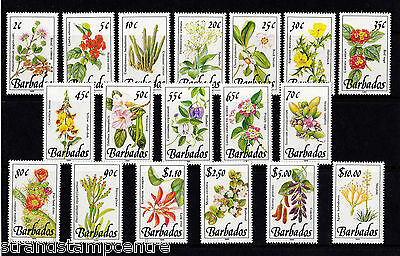 Barbados - 1989-92 Wild Plants - 1989 Imprint Dates - U/M - SG890-905