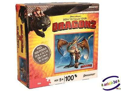 How to Train Your Dragon 2 - PUZZLE # 10773 - ASTRID & STORMFLY CASSE-TÊTE