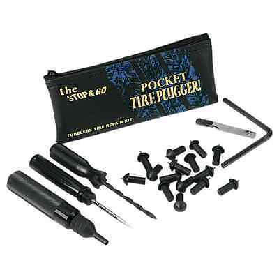 Stop Go International #1000 Pocket Tire Plugger for Tubeless Tires Free Freight