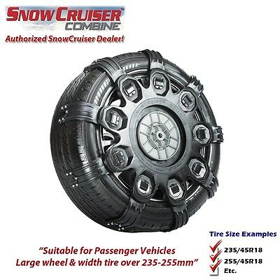 Snow Chain - SnowCruiser Combine XXL (Replaces Spikes-Spider Sport  XXL)