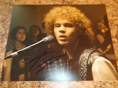 Francesco Yates Signed 8 X 10  Matte Photo Justin Beiber (1)
