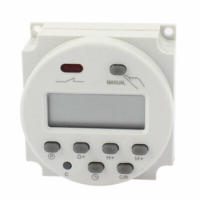 CN101A AC 220-240V LCD Digital Electronic Programmable Timer Switch Time Relay