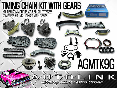 GENUINE TIMING CHAIN KIT WITH GEARS SUIT HOLDEN VZ ADVENTRA & CREWMAN 3.6lt V6