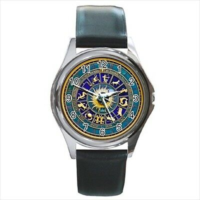ASTROLOGY Picture Watch - gift Zodiac star signs astonomy belt