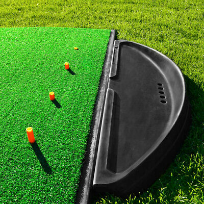 FORB Rubber Golf Ball Tray - Use With Hitting/Stance Practice Driving Range Mats