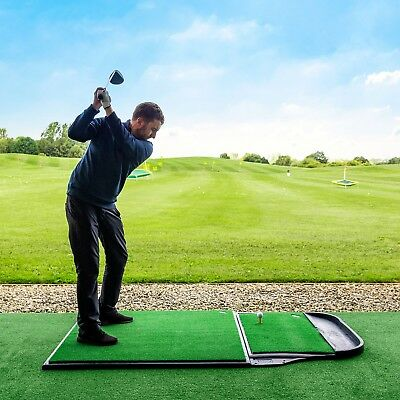 FORB Pro Driving Range Golf Practice Mat - Stance/Hitting Mat Long & Short Game
