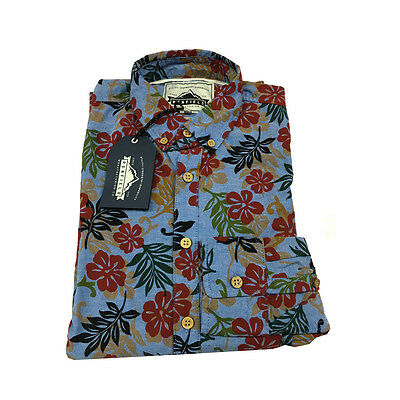 PENFIELD men's shirts fantasy 100 % cotone slim fit