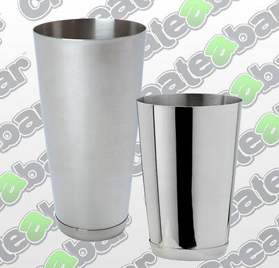 Stainless Steel Boston Cans -  28oz or 16oz - with reinforced base
