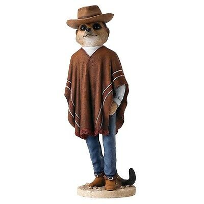Country Artists Magnificent Meerkats CA04493 Cowboy Meerkat