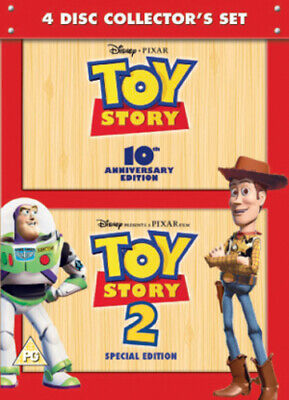 Toy Story/Toy Story 2 DVD (2005) John Lasseter cert PG FREE Shipping, Save £s