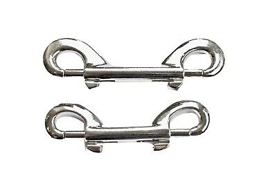 Double End Trigger Clips Metal Snap Hook Key chains and Luggage 8cm and 10cm