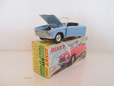 French Dinky Toys 511 Peugeot 204 Cabriolet Mib 9 En Boite Very Nice L@@k