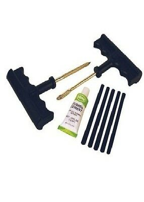 Slime 1034-A T-Handle Tire Plug Kit by Slime NEW FREE SHIPPING