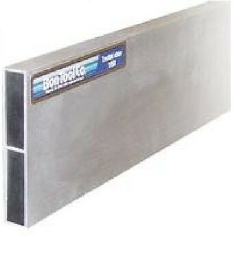 Bon 24-121 3/4-Inch by 4-Inch by 8-Foot Reinforced Aluminum H-Screed by BON