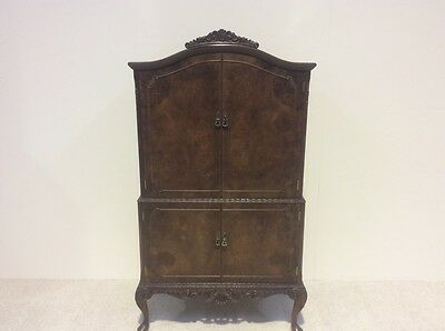 Antique Design Walnut Cocktail Cabinet Vintage Retro Rare Find More In Stock