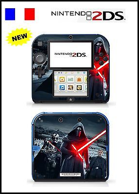 Skin Sticker Autocollant Deco Pour Nintendo 2Ds Ref 142 Star Wars