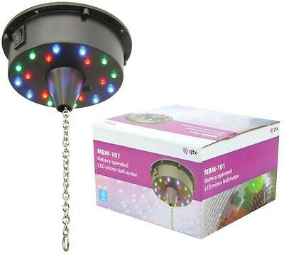 Battery Operated Rotating Motor for Mirror Glitter Ball with 18 LED Lights