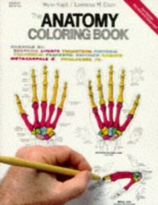 The Anatomy Coloring Book 2nd Edition By Kapit Wynn Elson Lawrenc