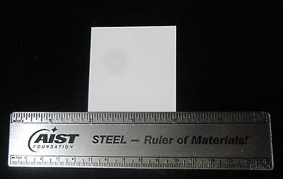 "THIN 2"" X 2.060"" CONTROLLED POROSITY ALUMINA CERAMIC SUBSTRATE SHEET No.: 512"