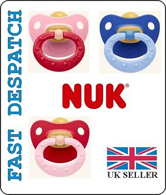 NUK SOOTHER / DUMMY CLASSIC SOFT, SIZE 3 ( 18 - 36 months ), LATEX,ORTHODONTIC