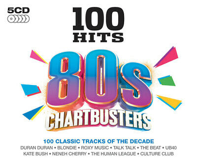 Various Artists : 100 Hits: 80s Chartbusters CD (2013)