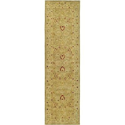 Safavieh Handmade Majesty Light Brown/ Beige Wool Rug (2'3 x 6')