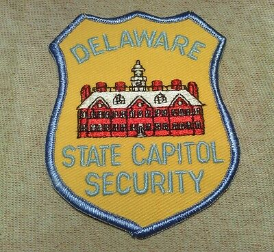 DE Delaware State Capitol Security Patch