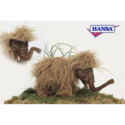 "Wooly Mammoth, Baby 11.7"" L  By Hansa Model: 5995"