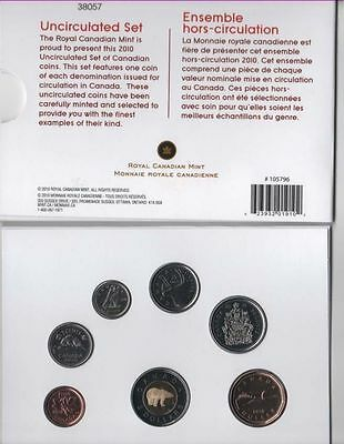 2010 Canada Proof Like 7-coin Set - In Original Package