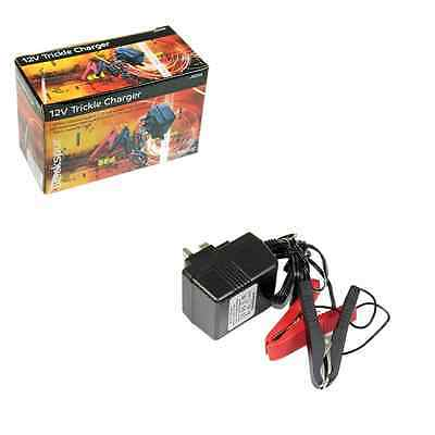 Trickle Charger 12v batteries automotive 500mA Blackspur constant output Ac/ Dc