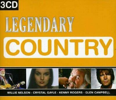 Various : Legendary Country CD