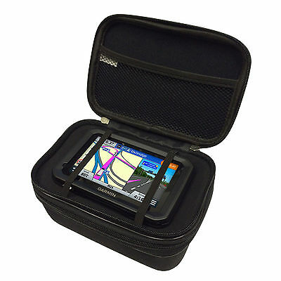 "5"" Multi-Compartment Heavy Duty Carry All Case For GARMIN DEZL 570 LMT-D"