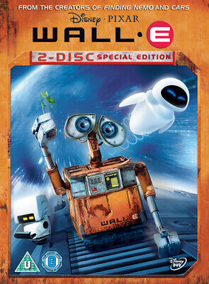 WALL.E DVD (2008) Andrew Stanton cert U 2 discs Expertly Refurbished Product