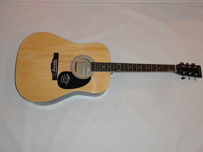 Joe Nichols Signed Full-Size Natural Acoustic Guitar Country Superstar