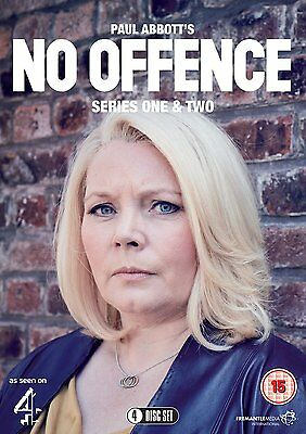 NO OFFENCE Stagioni 1/2 Serie Complete BOX 4 DVD in Inglese NEW .cp