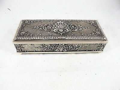 Indonesian 800 Silver Card Case C1930's