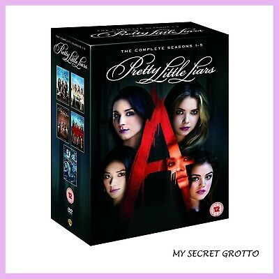 Pretty Little Liars - Complete Seasons 1 2 3 4 & 5 * Brand New Dvd Boxset***