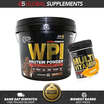 Bsc Body Science Whey Protein Isolate 3Kg 100 Serves Lean Protein Wpi