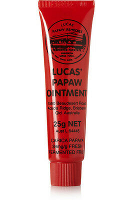 LUCAS' PAPAW Ointment PawPaw cream Handy Tube 25g  - UK SELLER -