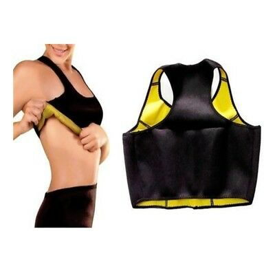 Hot Sauna Bra Neoprene Slimming Shaper Burn Fat Calorie Belly Loose Weight