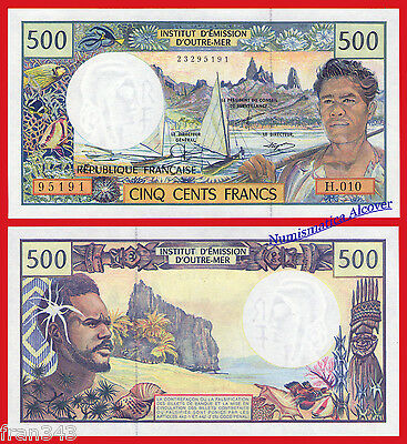 FRENCH PACIFIC TERRITORIES PACIFICO 500 Francs 2002 Pick 1d   SC / UNC