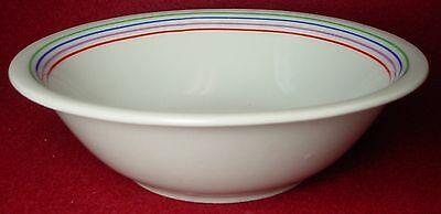BLOCK china SEXTET pattern CEREAL BOWL 6-1/4""